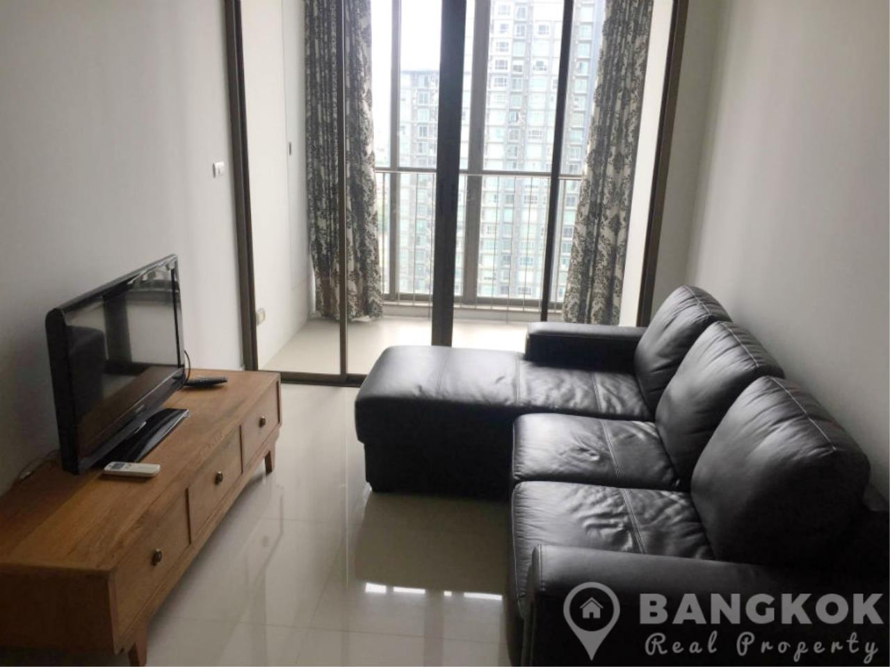 Bangkok Real Property Agency's IDEO Sathorn Taksin | Modern High Floor 1 Bed at BTS 1