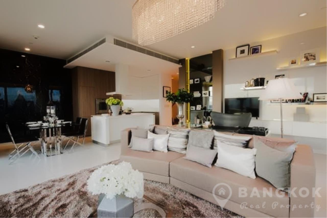 Bangkok Real Property Agency's 185 Rajadamri | Stunning 2 Bed 2 Bath Duplex Penthouse with Huge Private Terrace 2