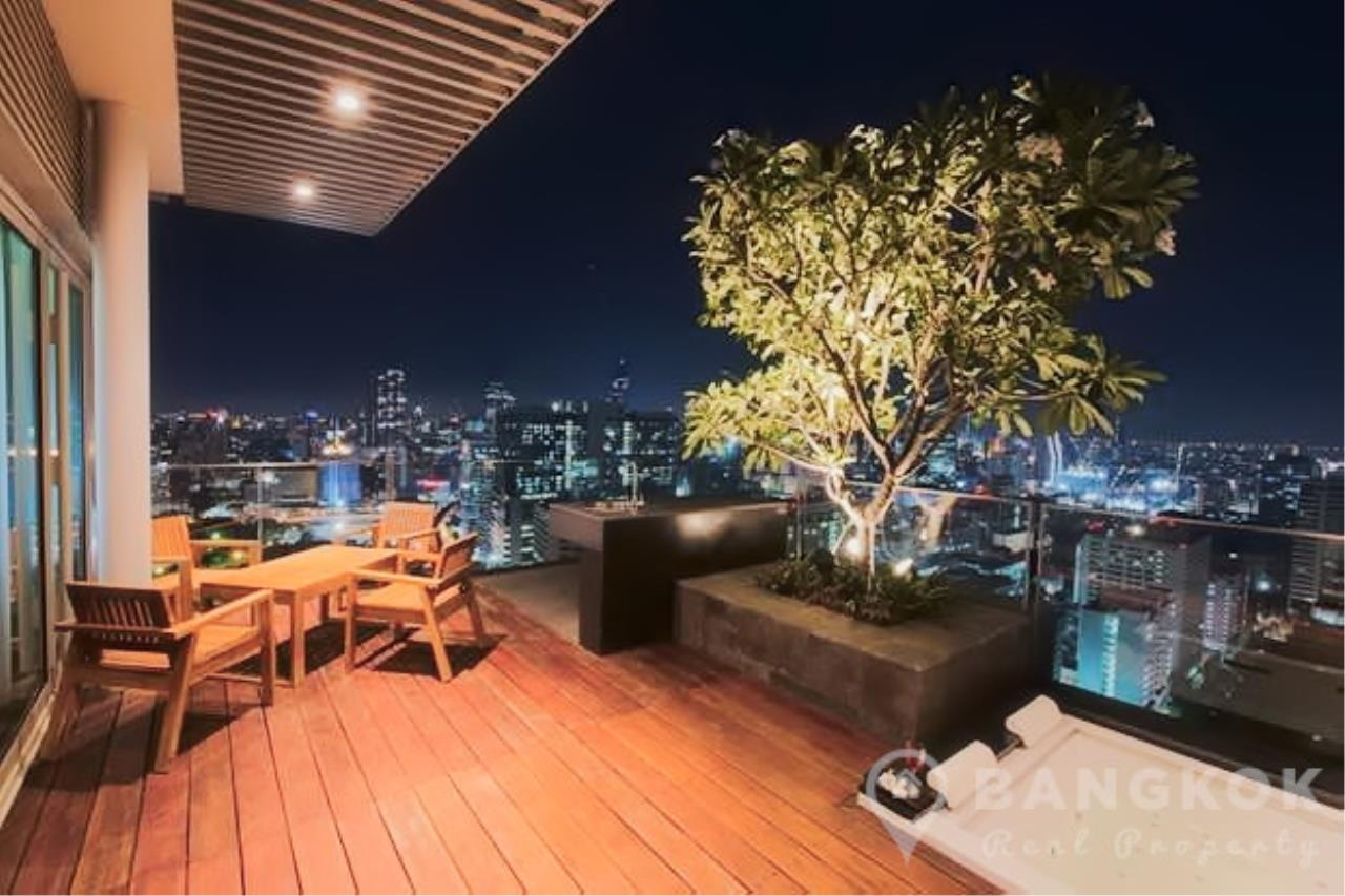 Bangkok Real Property Agency's 185 Rajadamri | Stunning 2 Bed 2 Bath Duplex Penthouse with Huge Private Terrace 7