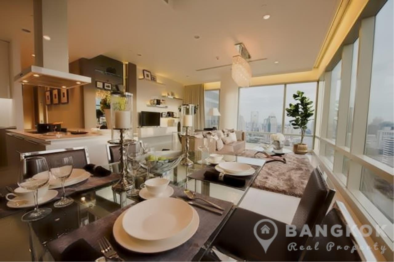 Bangkok Real Property Agency's 185 Rajadamri | Stunning 2 Bed 2 Bath Duplex Penthouse with Huge Private Terrace 3