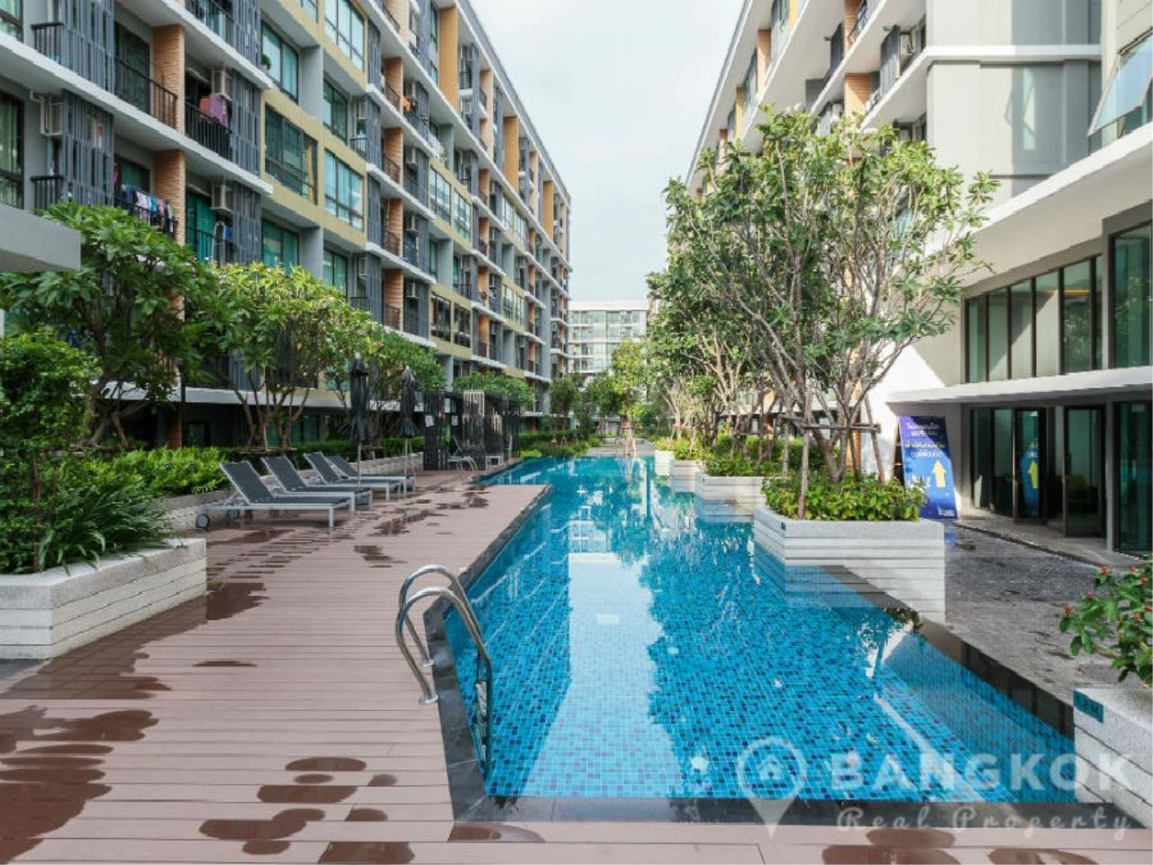 Bangkok Real Property Agency's ICondo Sukhumvit 103 | Modern 1 Bed 1 Bath with Garden View in Udomsuk 6