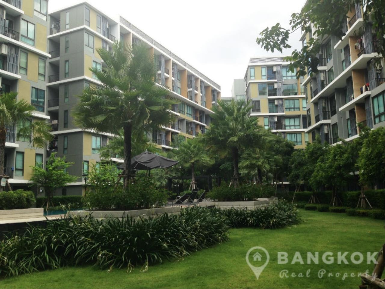 Bangkok Real Property Agency's ICondo Sukhumvit 103 | Modern 1 Bed 1 Bath with Garden View in Udomsuk 9