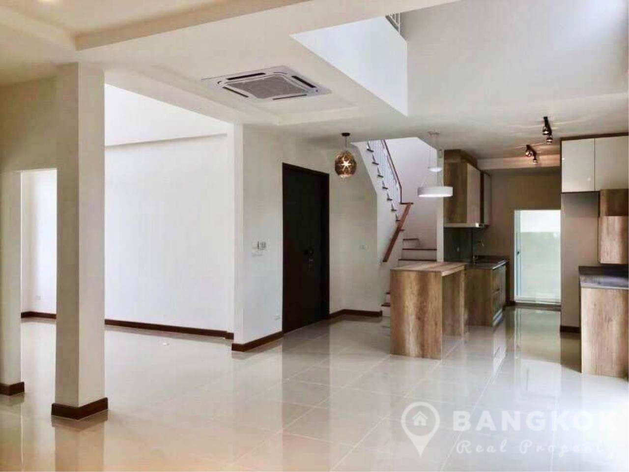 Bangkok Real Property Agency's Brand New Detached 4 Bed 4 Bath House just off Srinakarin Road 8