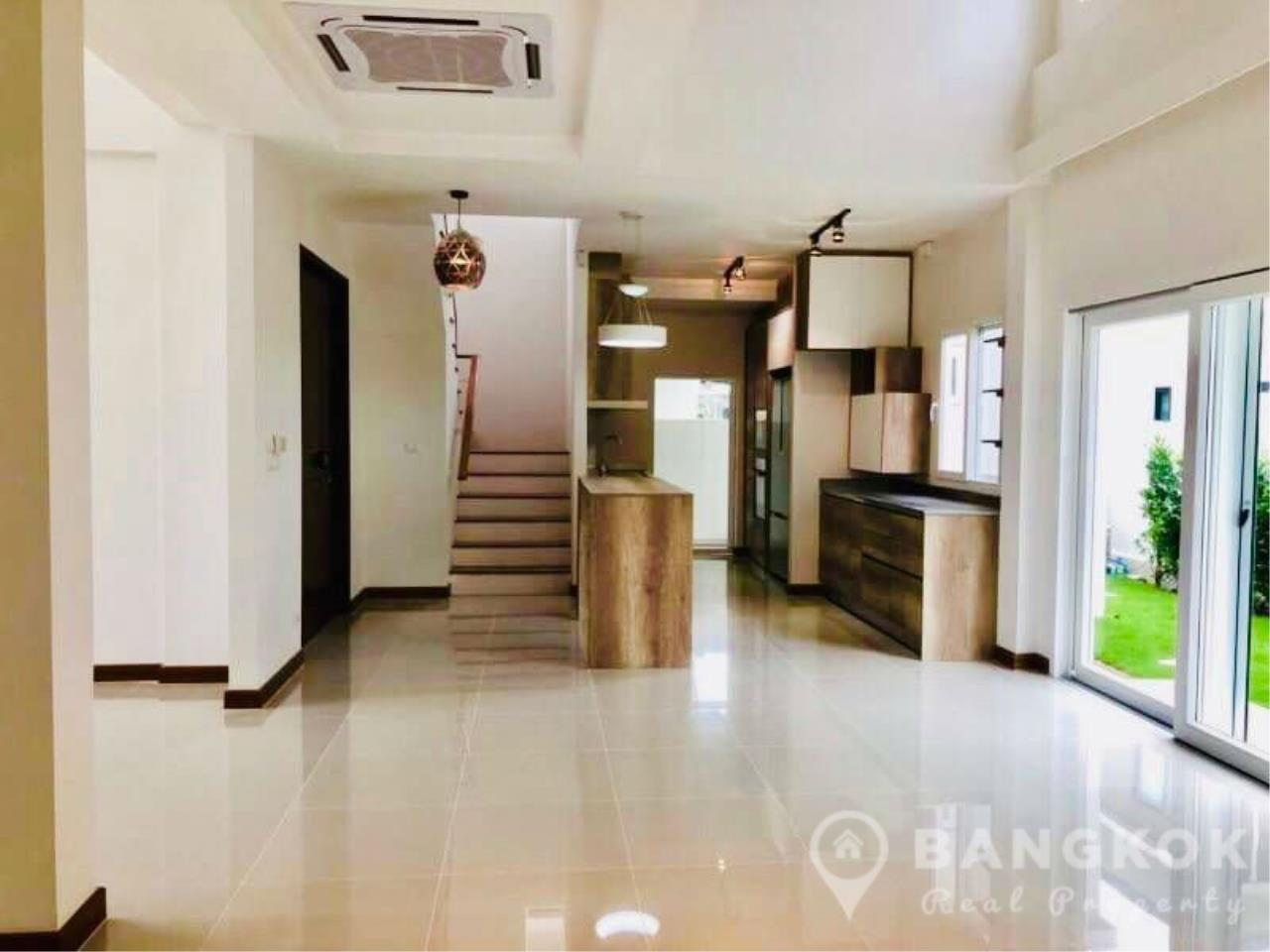 Bangkok Real Property Agency's Brand New Detached 4 Bed 4 Bath House just off Srinakarin Road 2