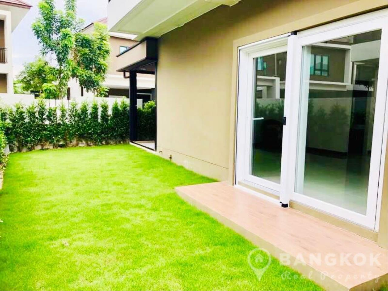 Bangkok Real Property Agency's Brand New Detached 4 Bed 4 Bath House just off Srinakarin Road 12