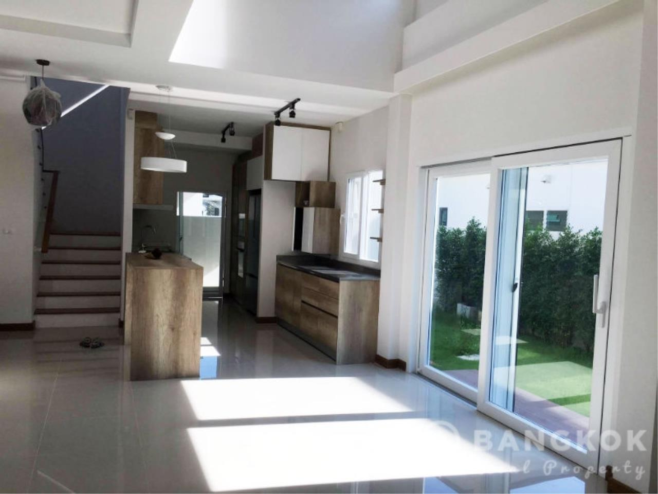 Bangkok Real Property Agency's Brand New Detached 4 Bed 4 Bath House just off Srinakarin Road 3
