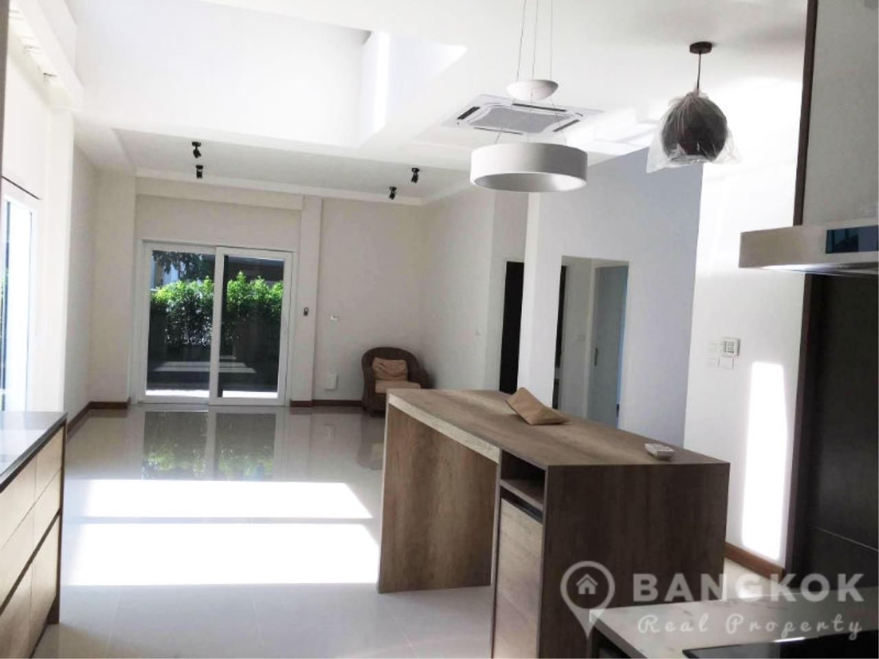Bangkok Real Property Agency's Brand New Detached 4 Bed 4 Bath House just off Srinakarin Road 5