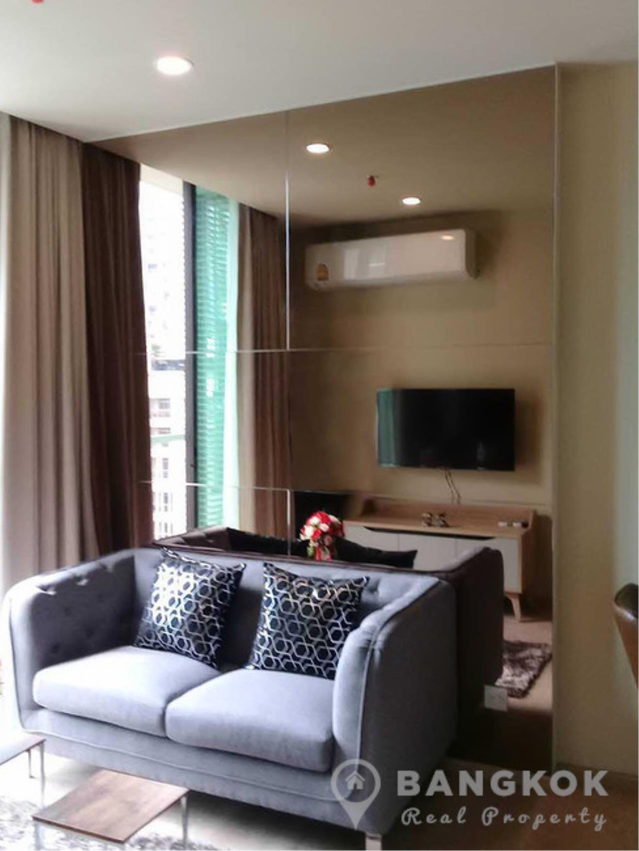 Bangkok Real Property Agency's Noble Recole Sukhumvit 19 | Brand New Modern 1 Bed near NIST School 2