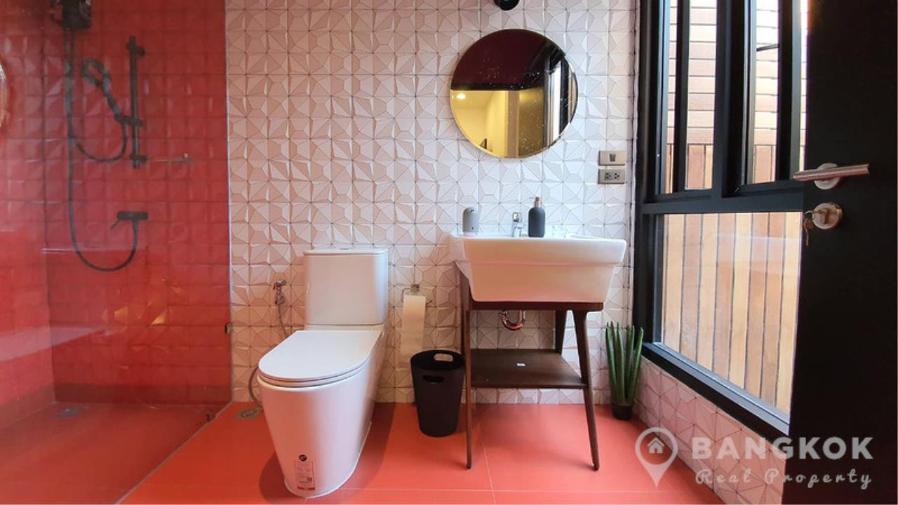 Bangkok Real Property Agency's Stunning Loft Style 3 Bed Townhouse in Phrom Phong  13