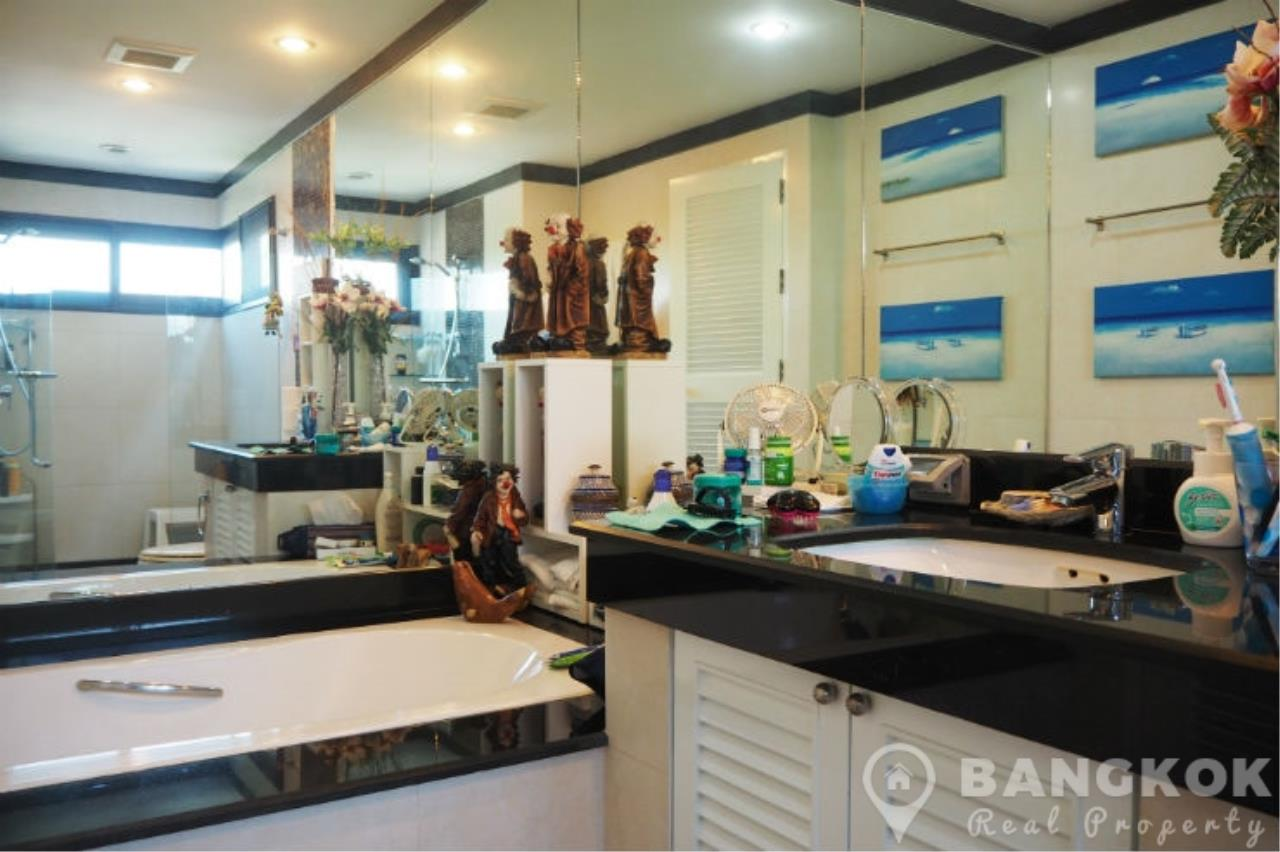 Bangkok Real Property Agency's Baan Ananda | Elegant Spacious 3 Bed 4 Bath + 1 Maid near Ekkamai BTS 18