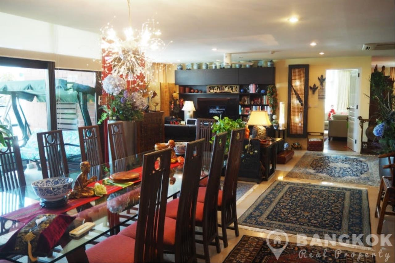 Bangkok Real Property Agency's Baan Ananda | Elegant Spacious 3 Bed 4 Bath + 1 Maid near Ekkamai BTS 9