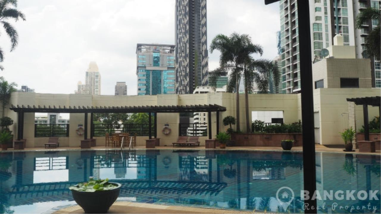 Bangkok Real Property Agency's Baan Piya Sathorn | Spacious Duplex Penthouse 3 Bed 4 Bath  22