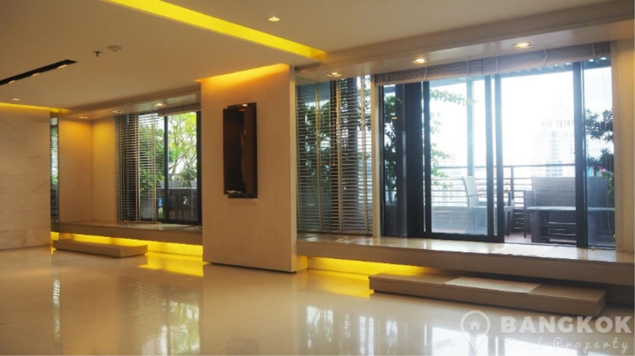 Bangkok Real Property Agency's Baan Piya Sathorn | Spacious Duplex Penthouse 3 Bed 4 Bath  31