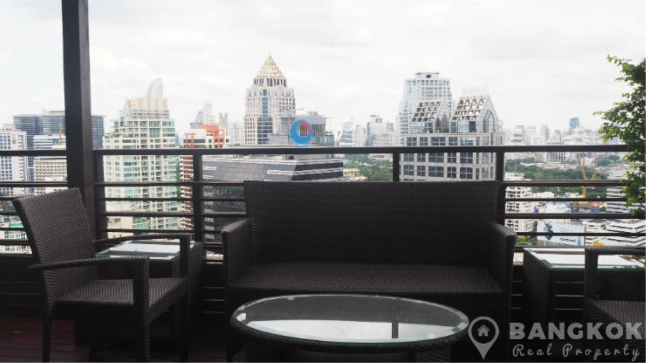 Bangkok Real Property Agency's Baan Piya Sathorn | Spacious Duplex Penthouse 3 Bed 4 Bath  36