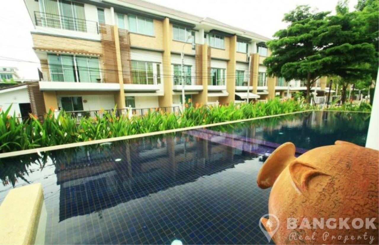 Bangkok Real Property Agency's Modern Udomsuk Townhouse with 3 Bed 3 Bath in Secure Compound 11