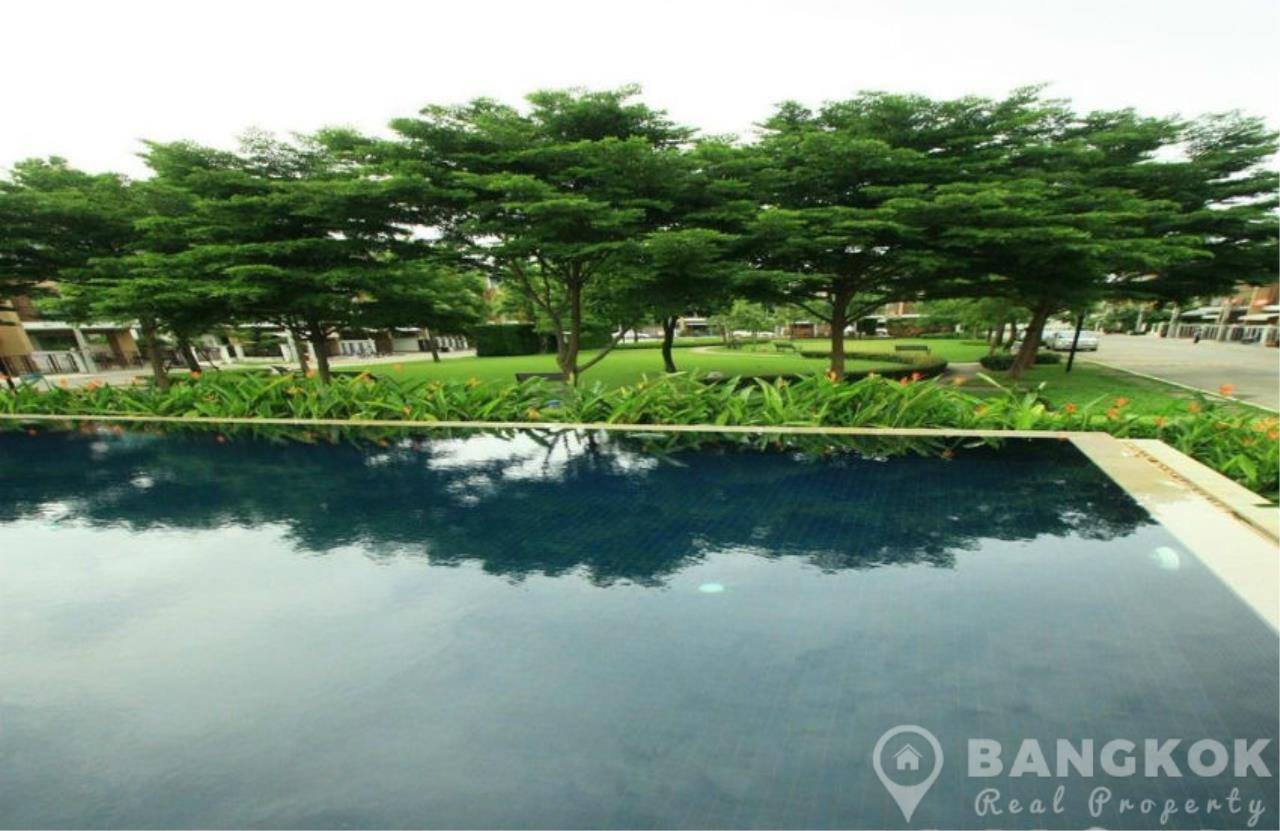 Bangkok Real Property Agency's Modern Udomsuk Townhouse with 3 Bed 3 Bath in Secure Compound 12
