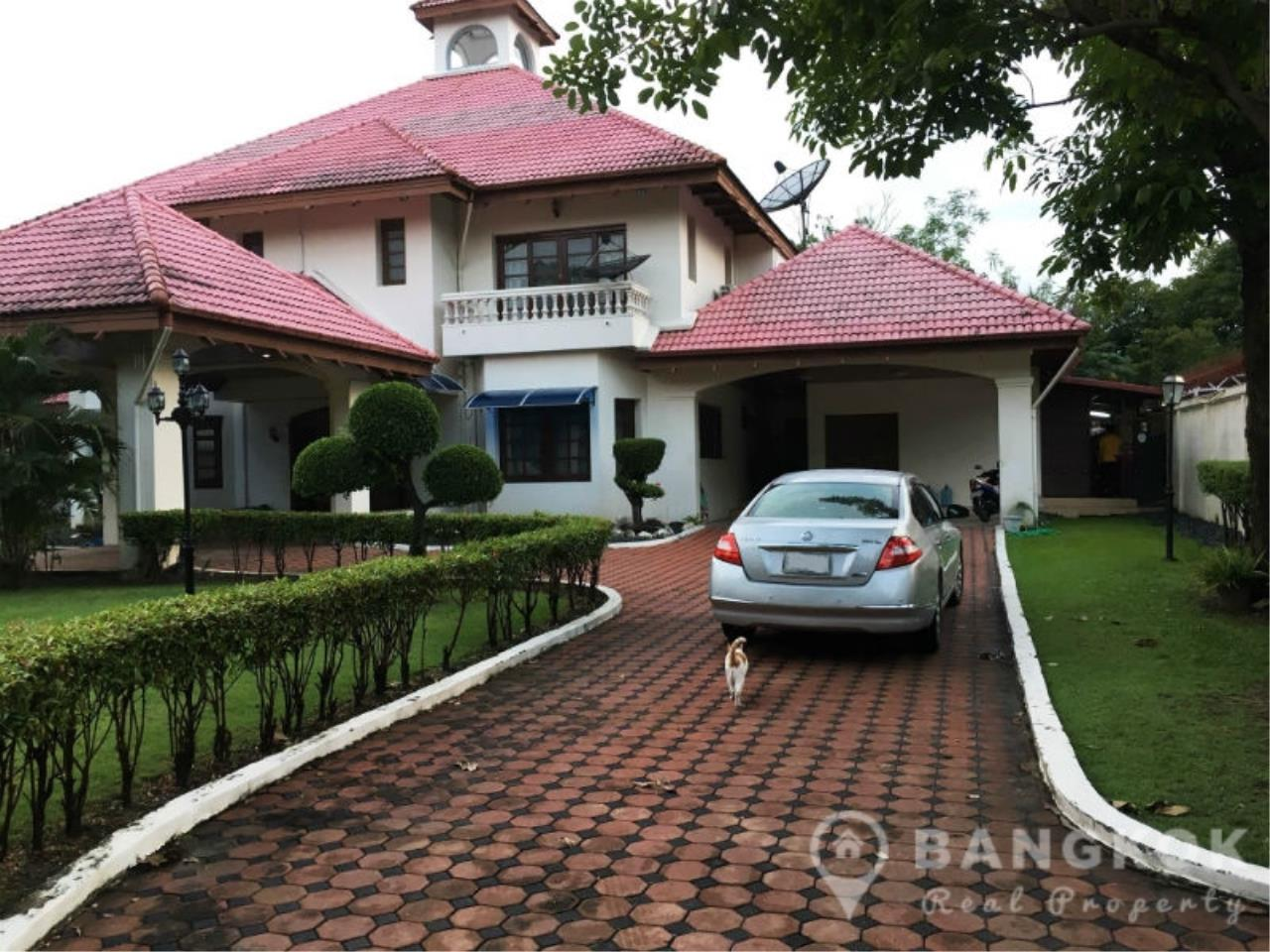 Bangkok Real Property Agency's Large Detached 6 Bed 5 Bath Phatthanakan House for Sale 1