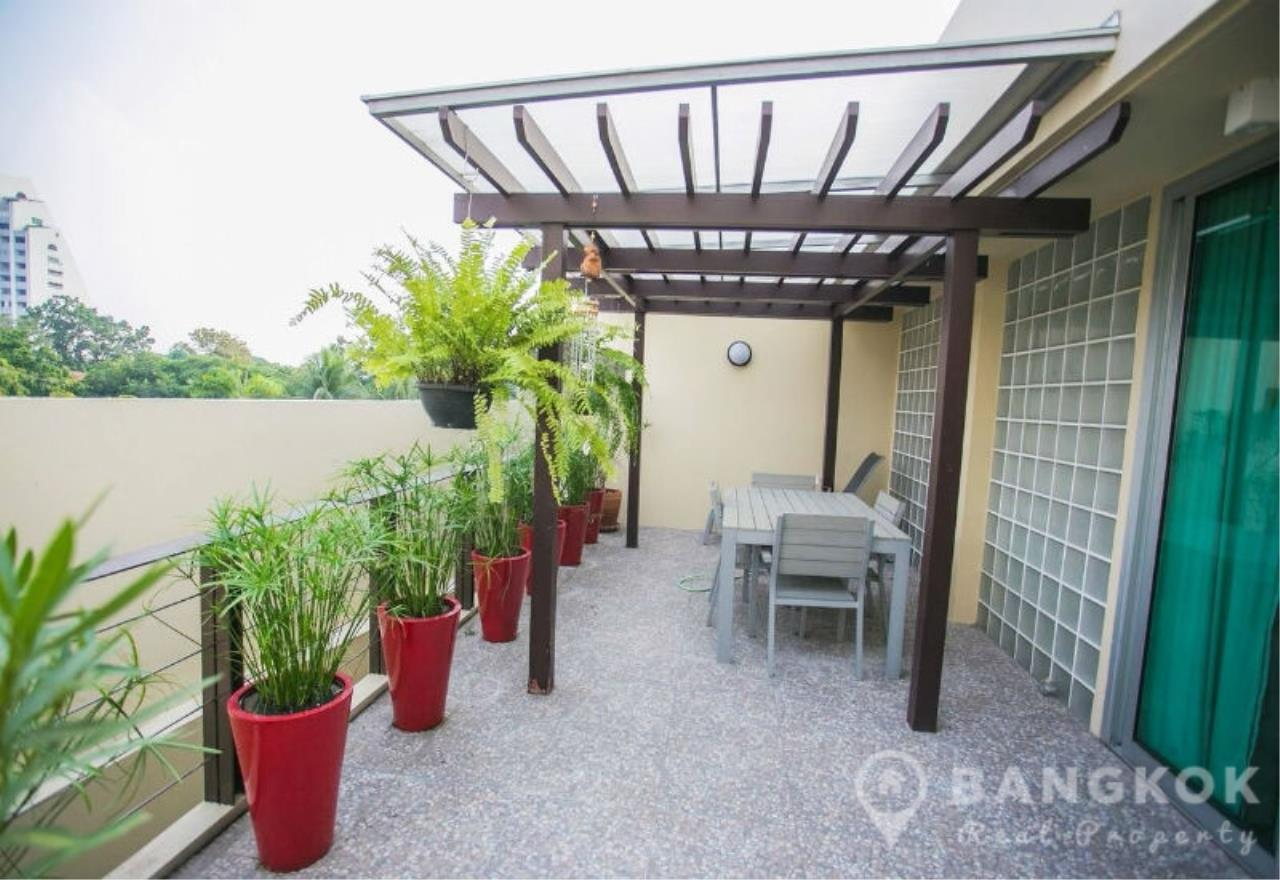 Bangkok Real Property Agency's Sathorn - Unique Loft Style 4 Bed 4 Bath Townhouse in Secure Compound. 13