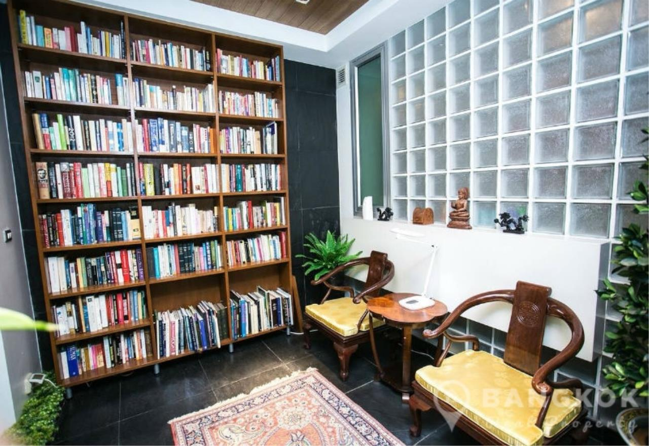 Bangkok Real Property Agency's Sathorn - Unique Loft Style 4 Bed 4 Bath Townhouse in Secure Compound. 12