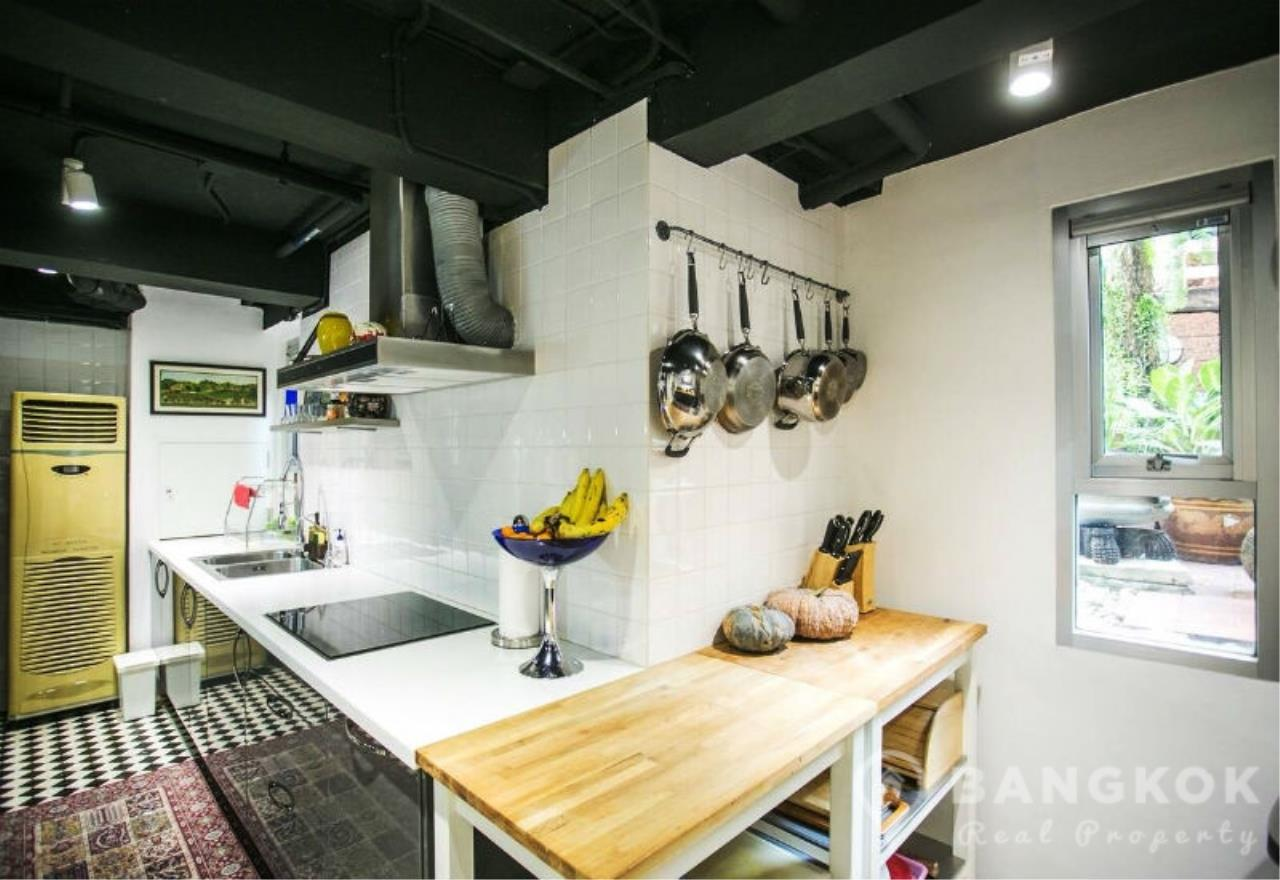 Bangkok Real Property Agency's Sathorn - Unique Loft Style 4 Bed 4 Bath Townhouse in Secure Compound. 5
