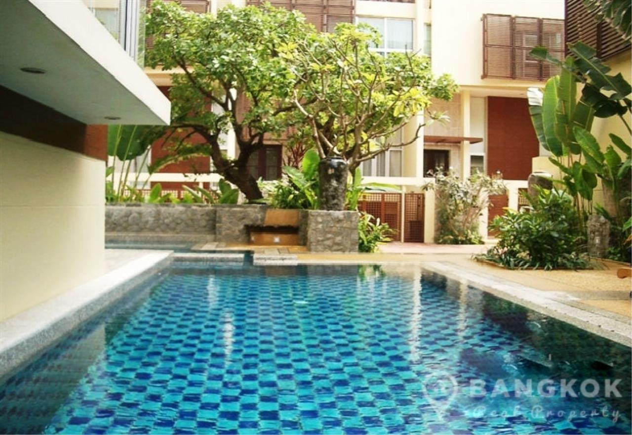 Bangkok Real Property Agency's Sathorn - Unique Loft Style 4 Bed 4 Bath Townhouse in Secure Compound. 14