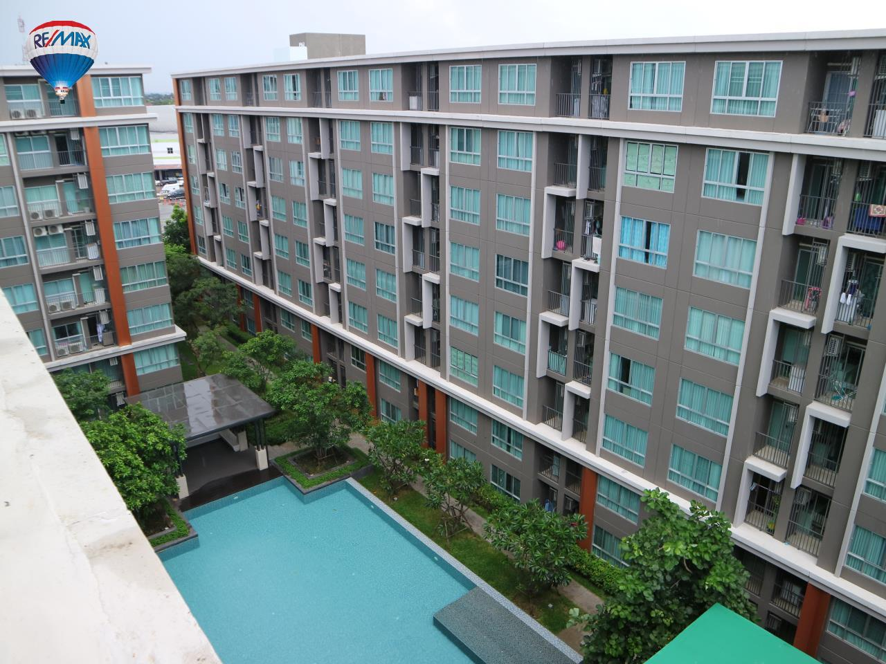 RE/MAX Classic Agency's Condominium for rent, downtown near BigC Super center Chiangrai. 25