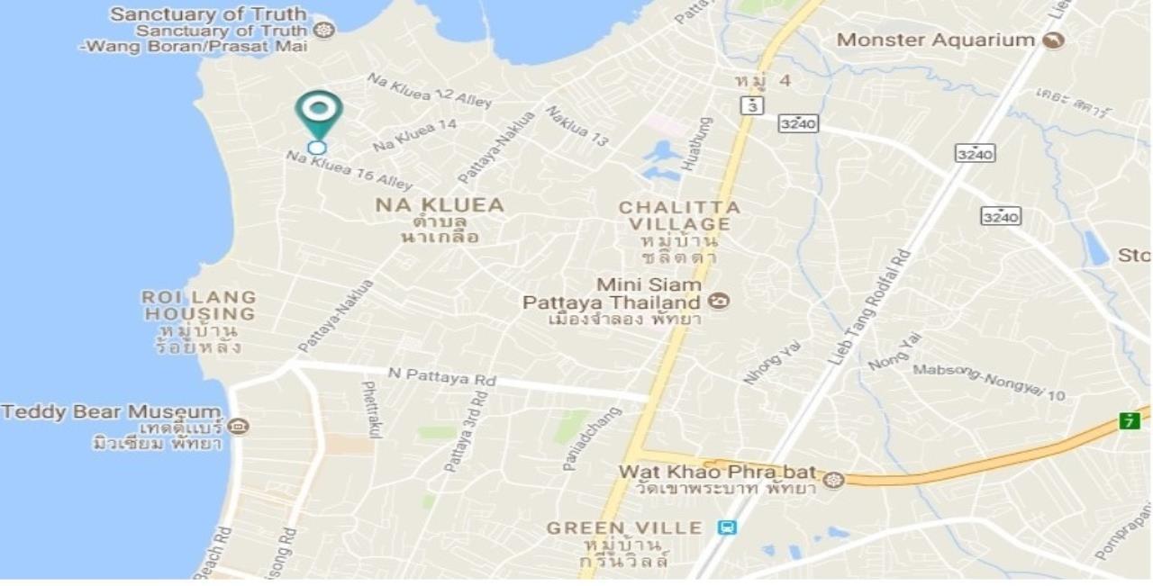 Agent - Thammajak Agency's Sale building 3 floors Pattaya Nakluea 16 Alley, near Wongamat beach Pattaya 18