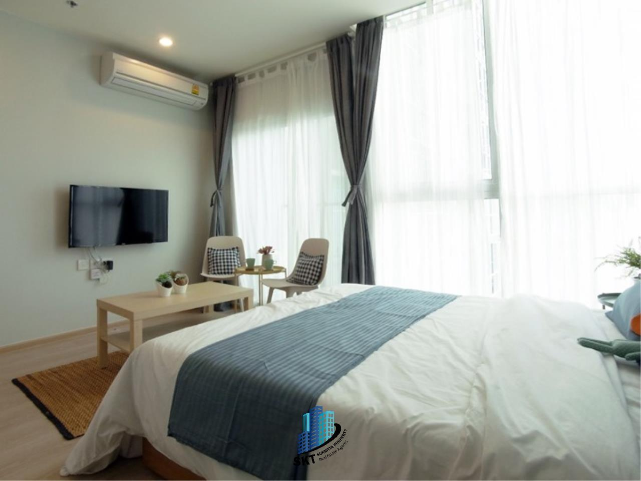 Sukritta Property Agency's FOR RENT NOBLE REVOLVE RATCHADA 1 NEAR MRT THAILAND CULTURAL CENTER 2