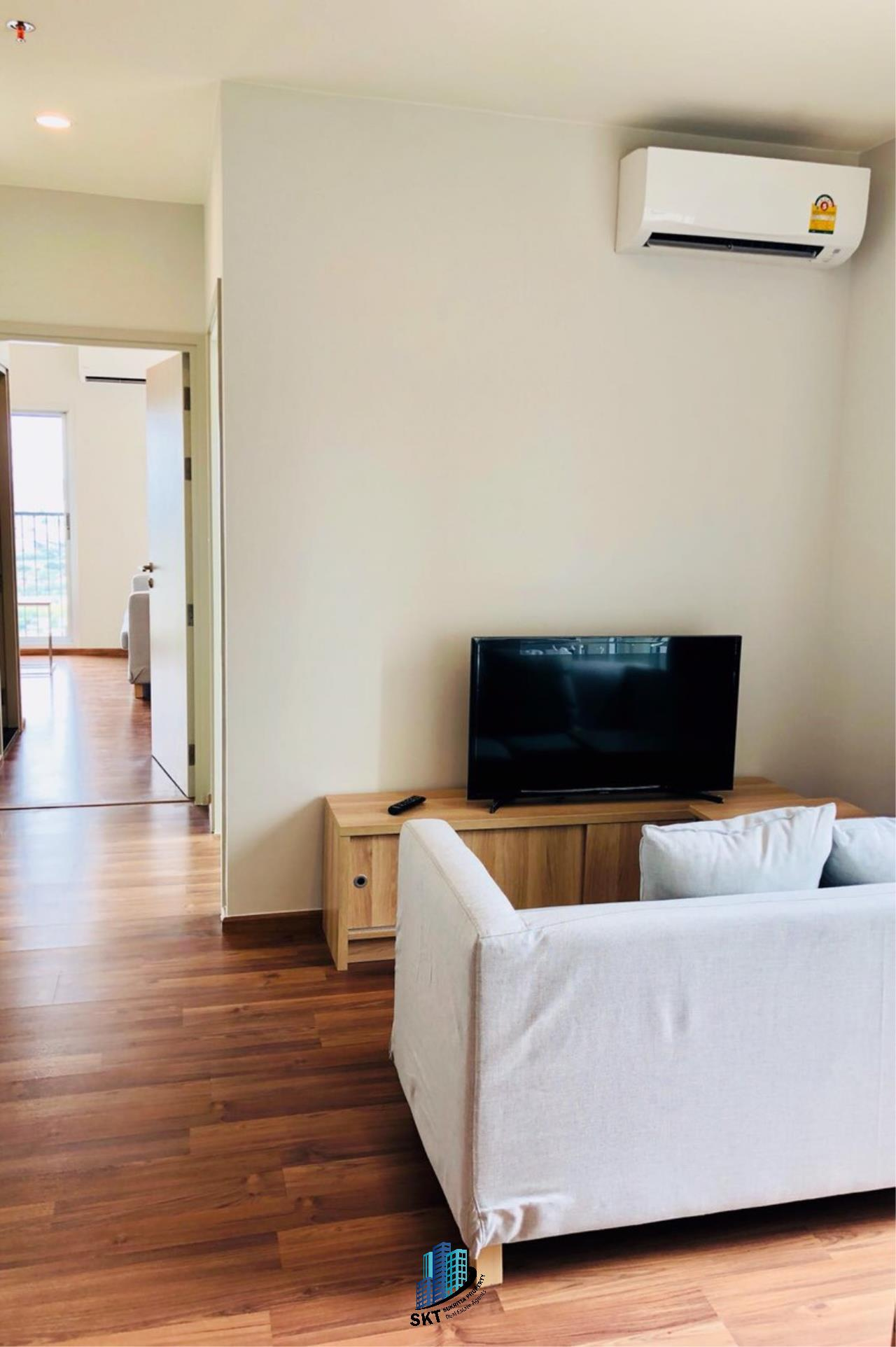 Sukritta Property Agency's FOR RENT NOBLE REVOLVE RATCHADA 2 NEAR MRT THAILAND CULTURAL CENTER 1