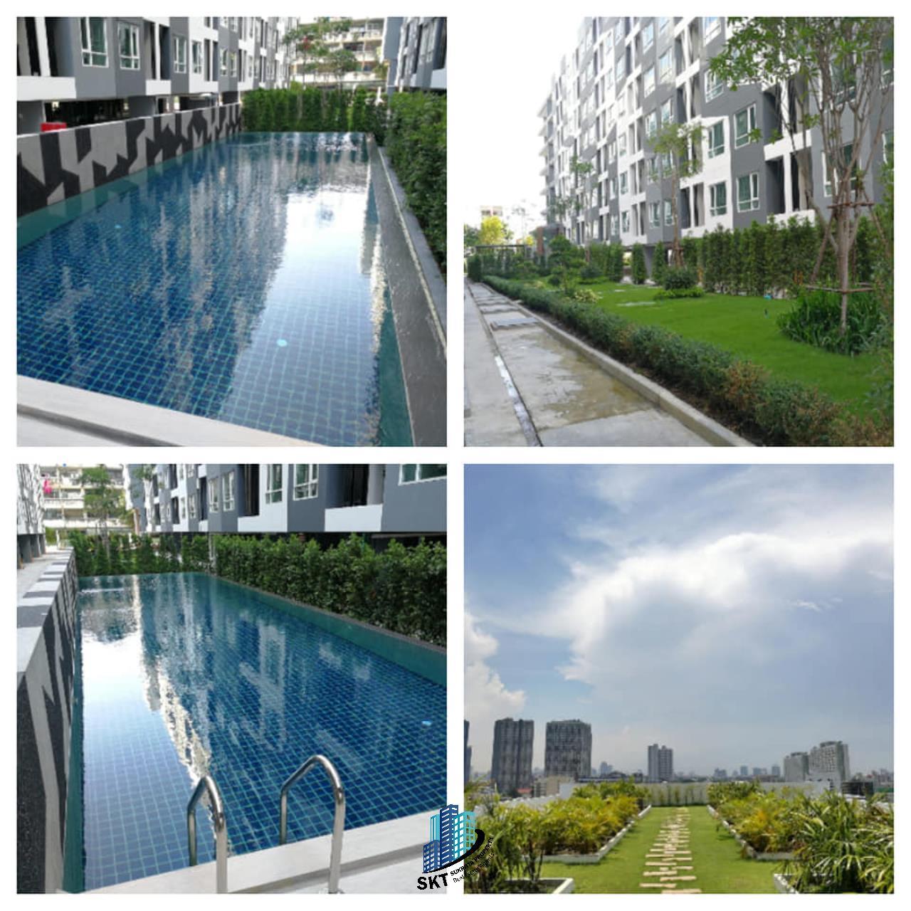 Sukritta Property Agency's REGENT HOME SUKHUMVIT 81 NAER BTS ONNUT 5