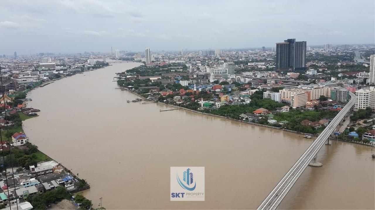 Sukritta Property Agency's 333 Riverside Condominium Near BTS Bangpho 1