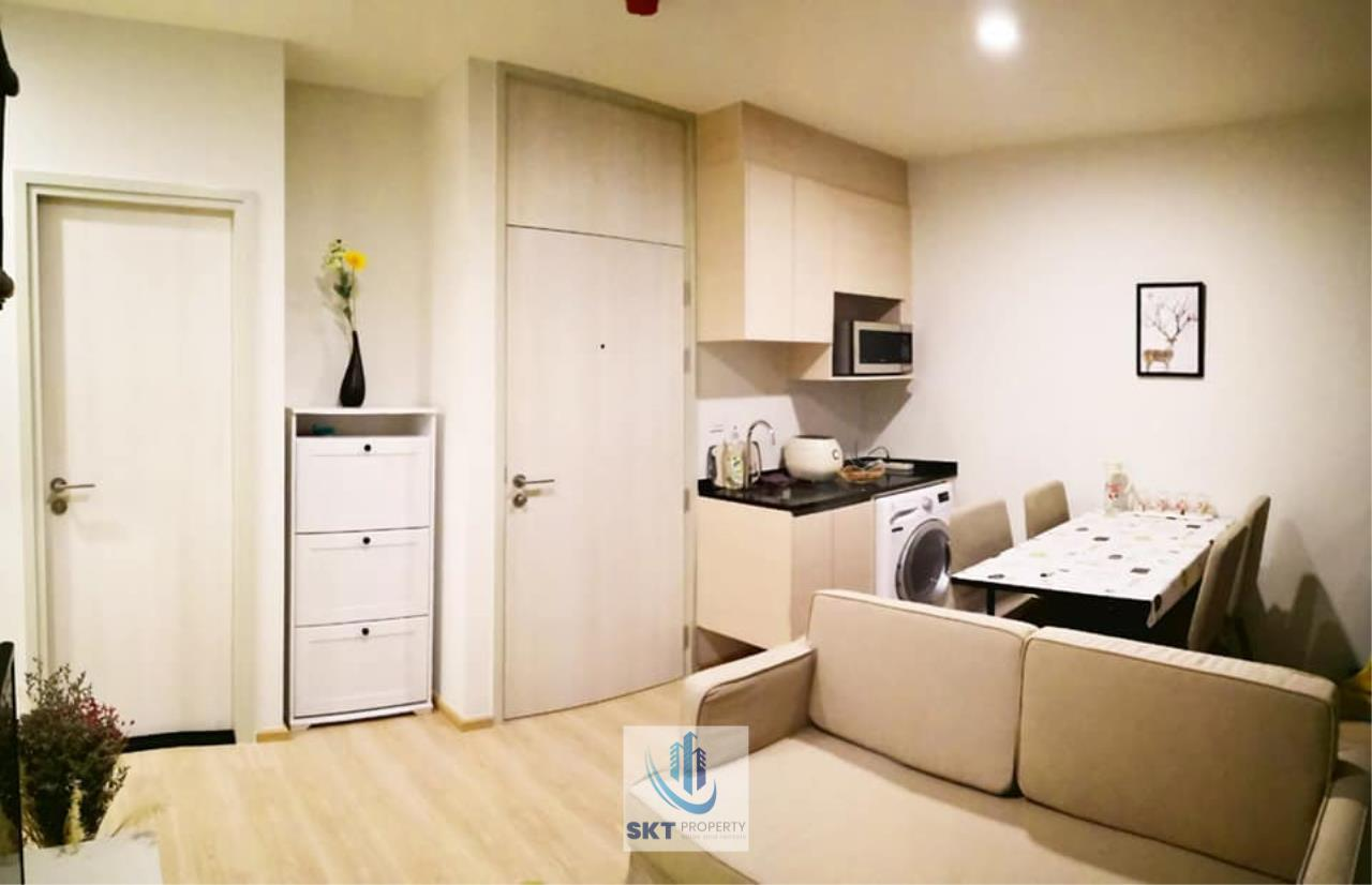 Sukritta Property Agency's FOR RENT NOBLE REVOLVE RATCHADA 2 NEAR MRT THAILAND CULTURAL CENTER 3