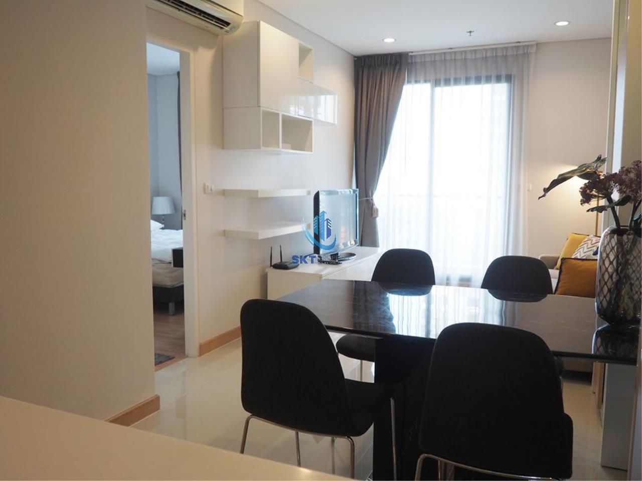 Sukritta Property Agency's Rent Villa Asoke Near MRT Pechaburi 5