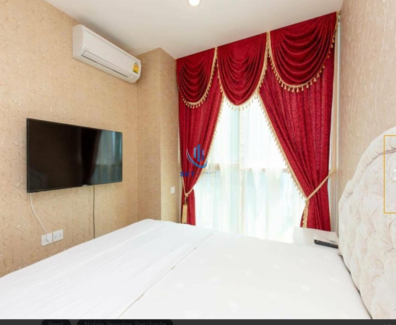 Sukritta Property Agency's FOR RENT NOBLE REVOLVE RATCHADA 1 NEAR MRT THAILAND CULTURAL CENTER 1