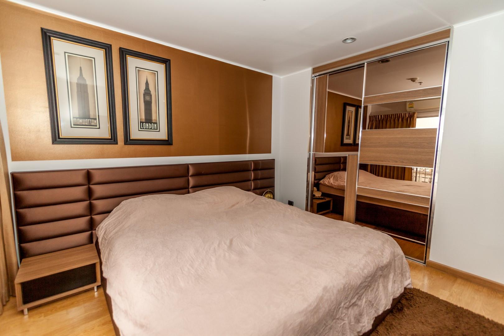 In Bangkok Condo Agency's U Delight, Hauy Kwang 65 sqm, 2 bed high floor 3