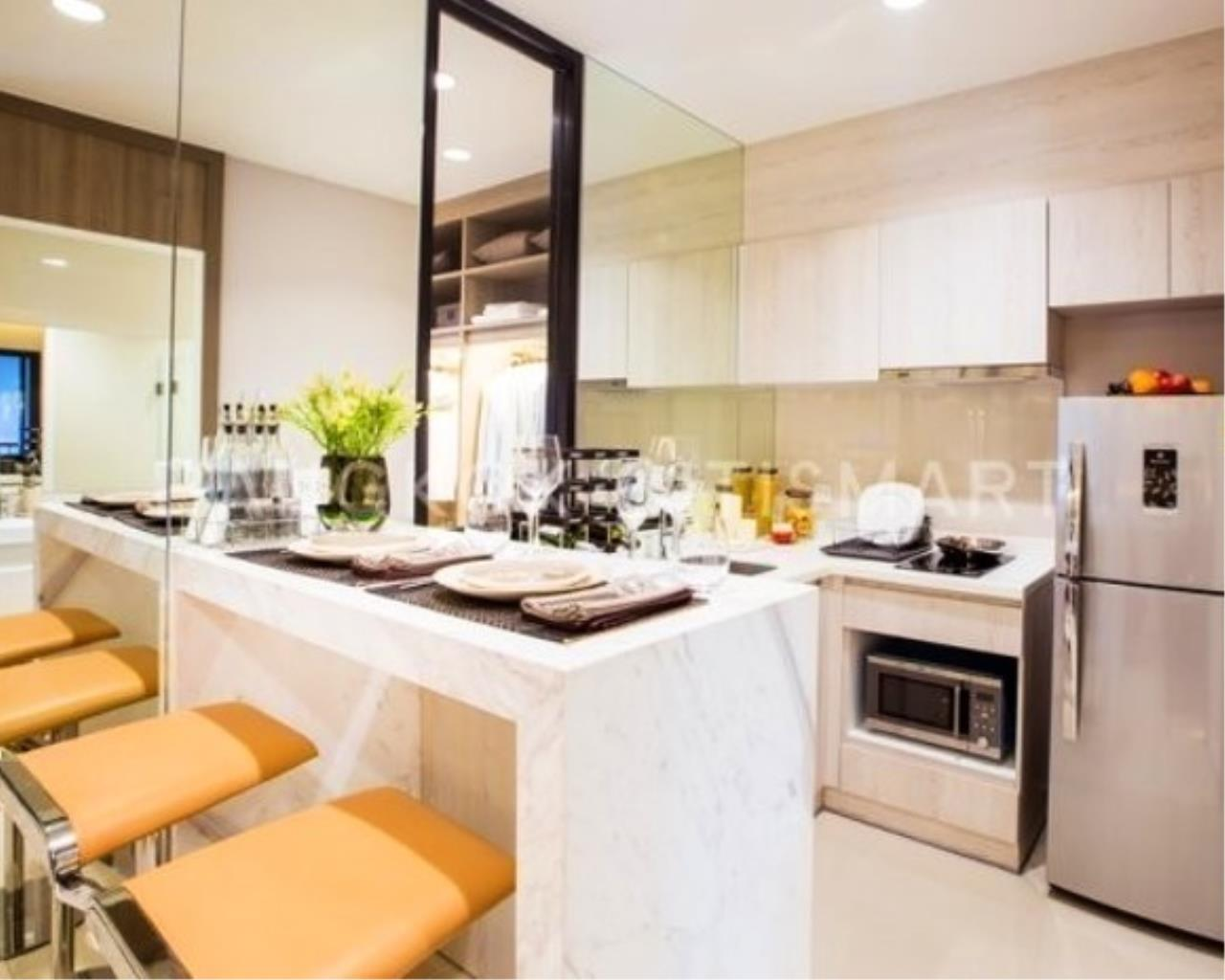 In Bangkok Condo Agency's Life Asoke off plan completed soon.  hard to find corner unit 1