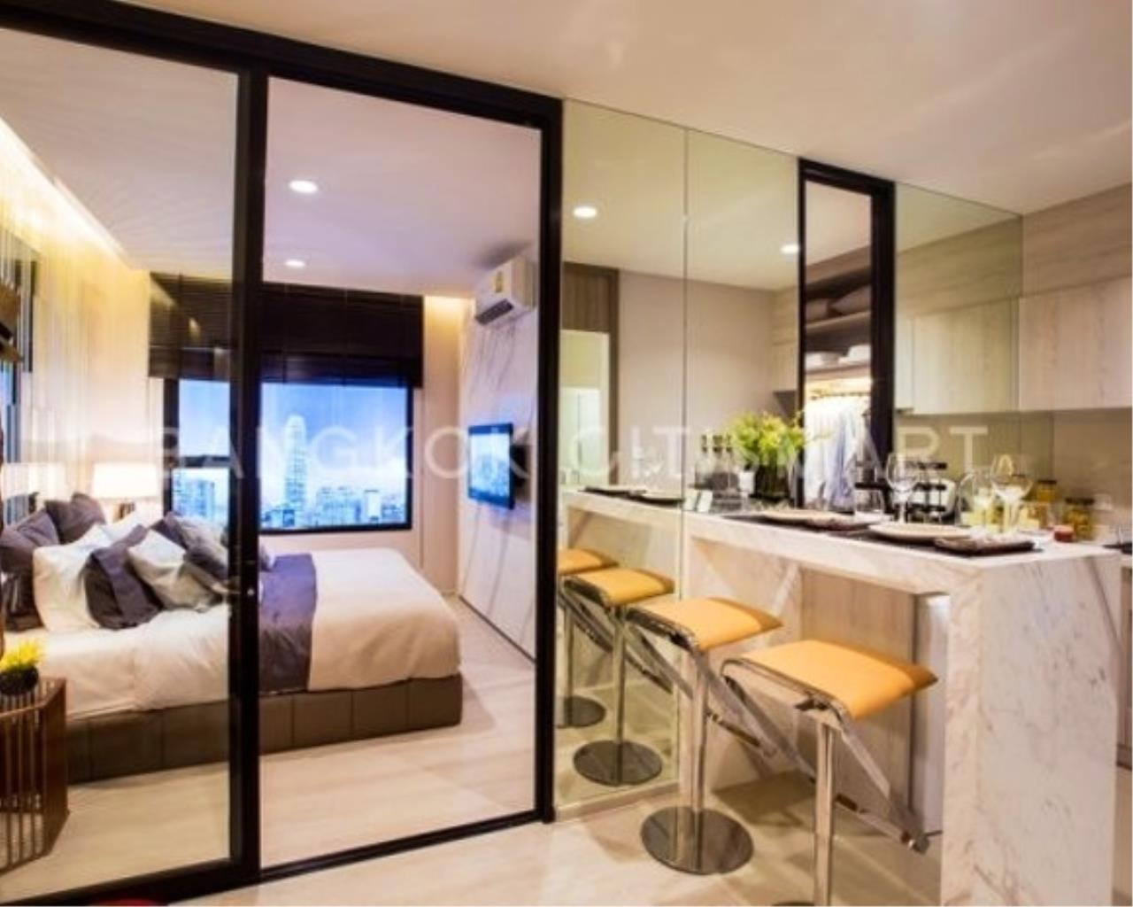 In Bangkok Condo Agency's Life Asoke off plan completed soon.  hard to find corner unit 7