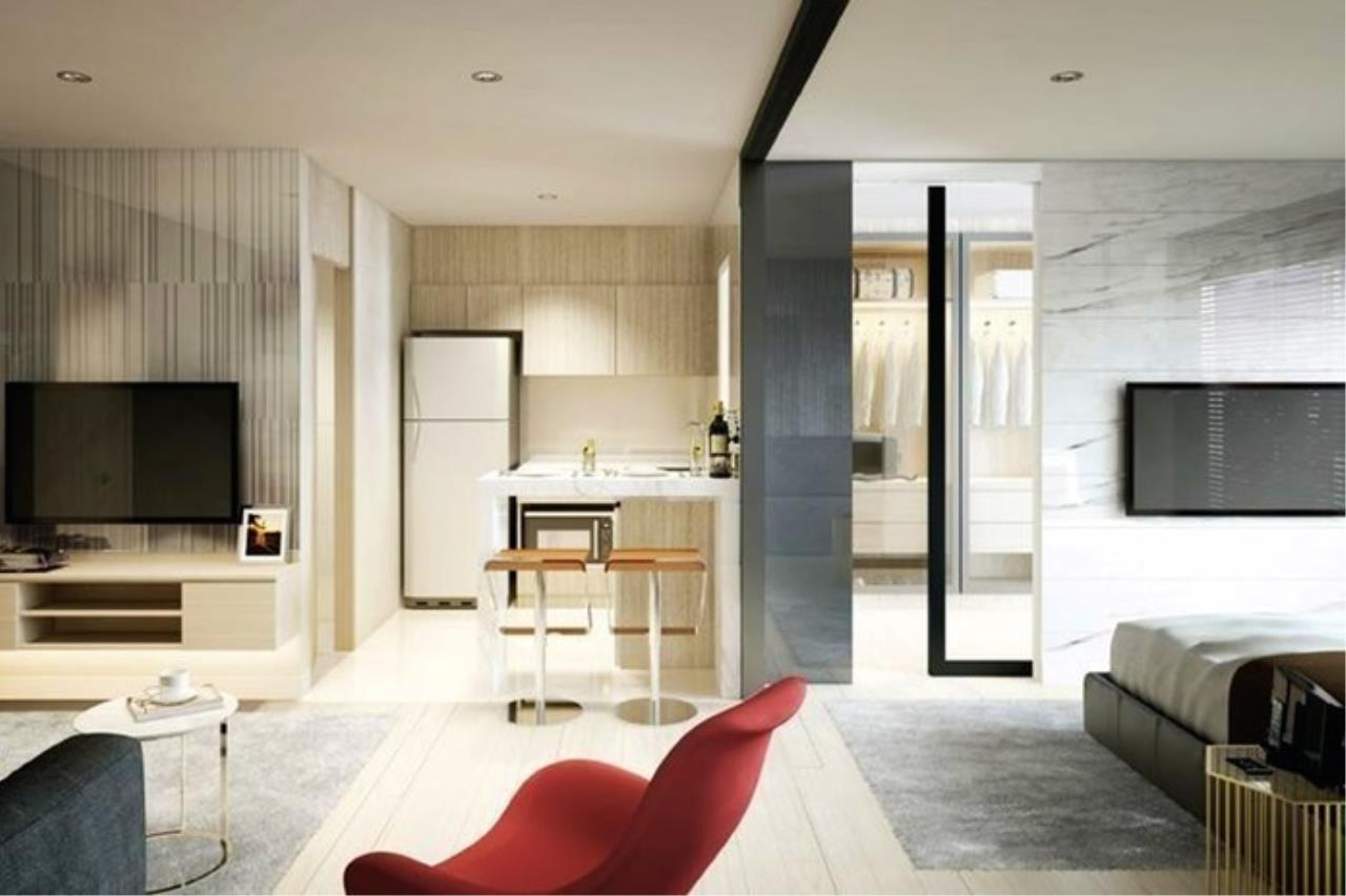 In Bangkok Condo Agency's Life Asoke off plan completed soon.  hard to find corner unit 5