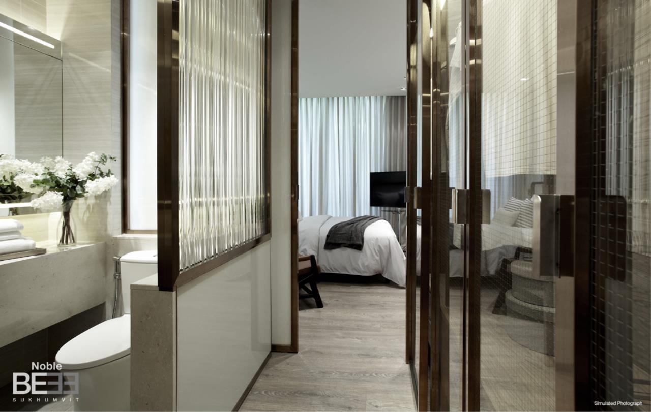 In Bangkok Condo Agency's  43sq.m corner unit hard to find high floor Sukhumvit 33 8