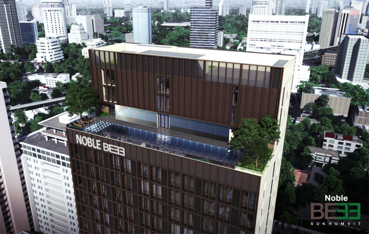 In Bangkok Condo Agency's  43sq.m corner unit hard to find high floor Sukhumvit 33 11