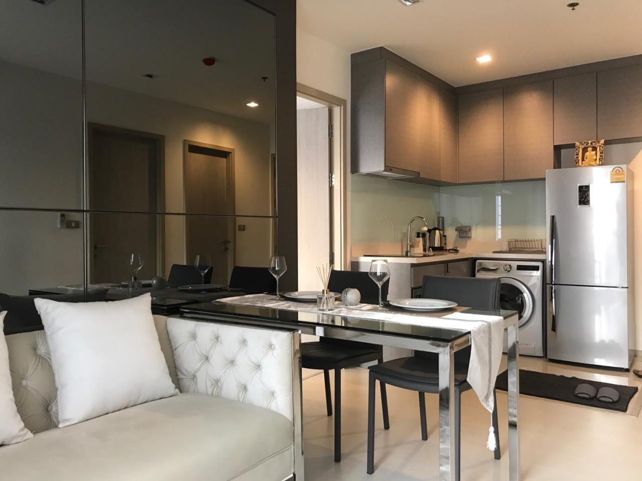 Agent - Pondphat Agency's Rhythm Sukhumvit near BTS Thong Lor 2Bed 2Bath 55sqm Fully Furnished  1