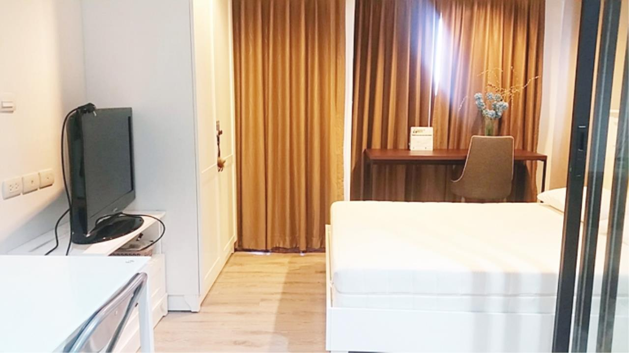 Estate Corner Agency (Samut Prakan) Agency's Sale with Tenant Condo Bearing from BTS only 600 meters. Fully furnished. 2