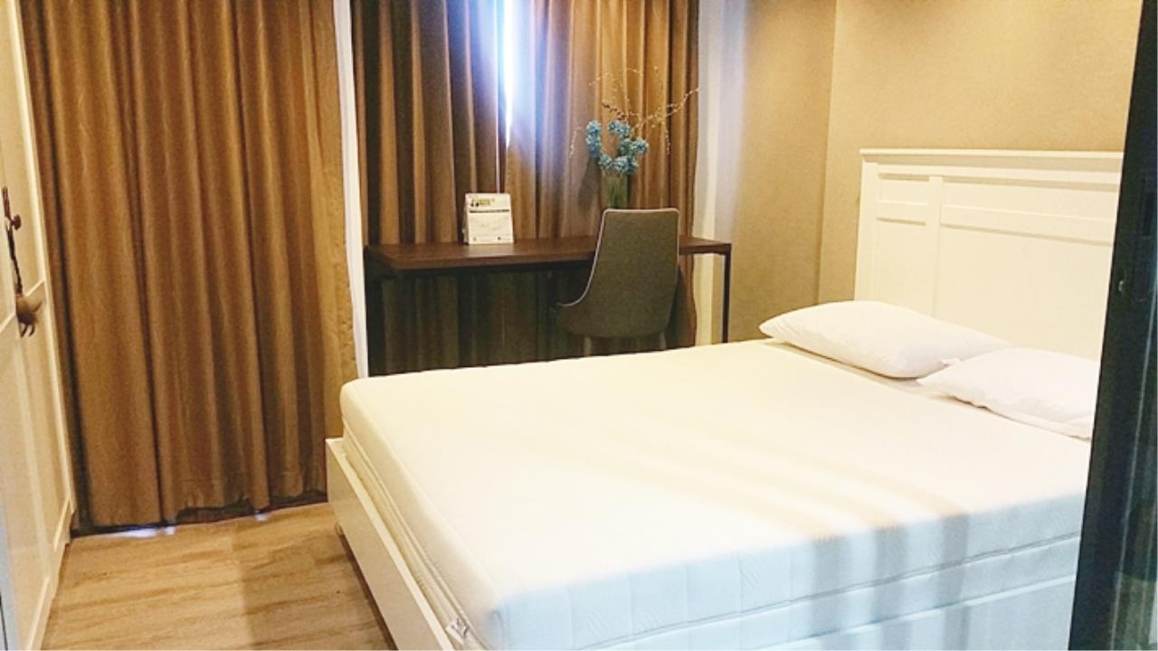 Estate Corner Agency (Samut Prakan) Agency's Sale with Tenant Condo Bearing from BTS only 600 meters. Fully furnished. 3