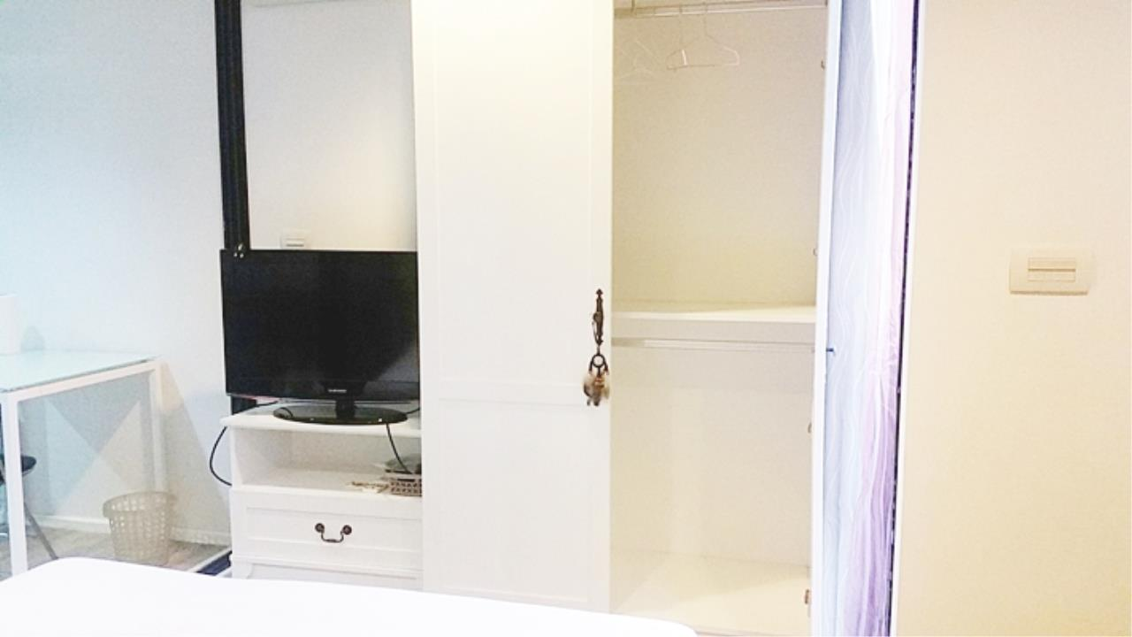Estate Corner Agency (Samut Prakan) Agency's Sale with Tenant Condo Bearing from BTS only 600 meters. Fully furnished. 6