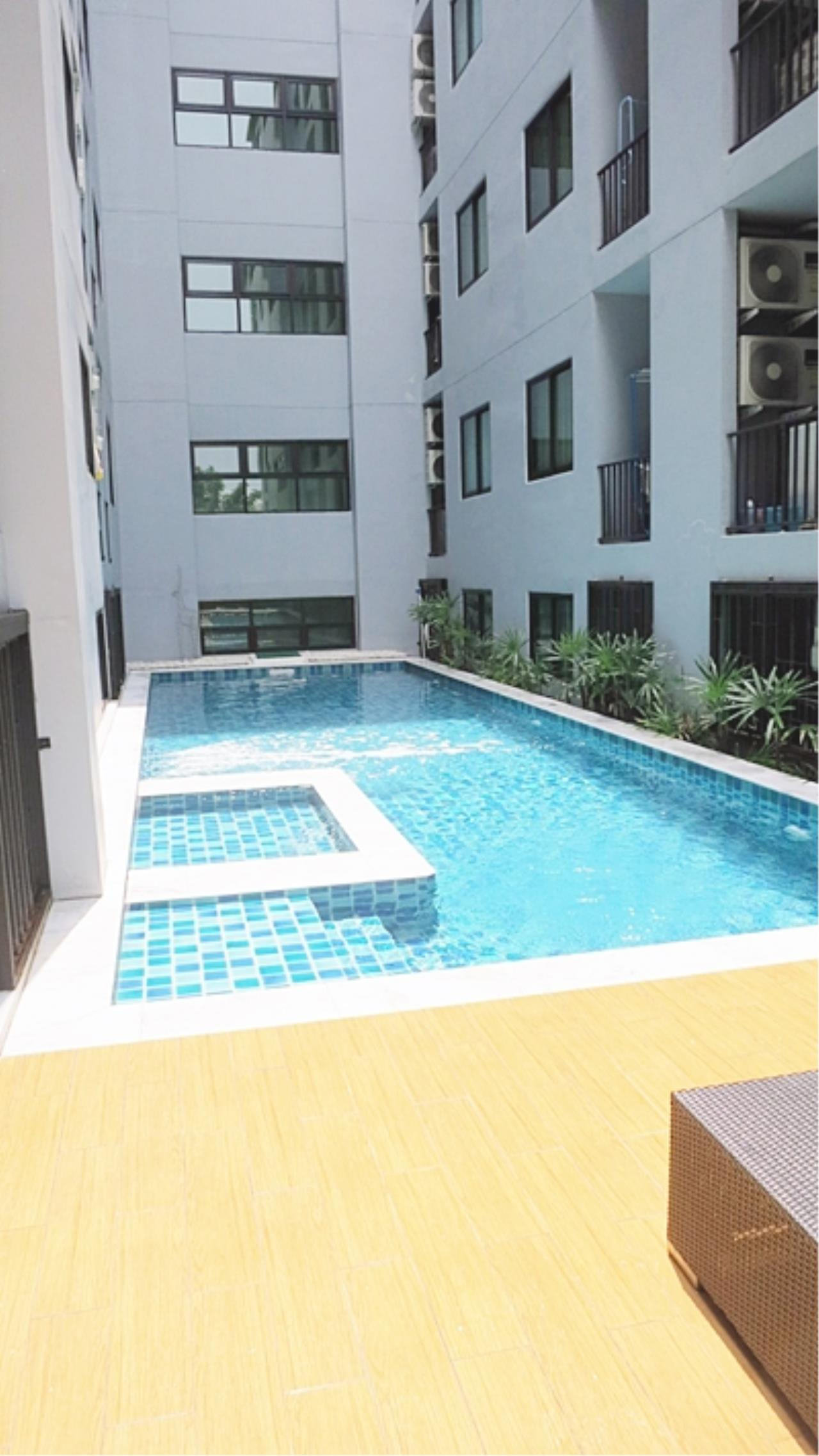 Estate Corner Agency (Samut Prakan) Agency's Condo for sale B-loft Sukhumvit  115  close to BTS  only 500 m. Fully furnished. 10