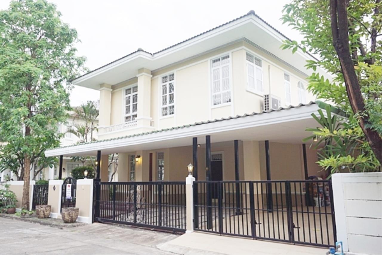 Estate Corner Agency (Samut Prakan) Agency's Single house for sale Ladprao, fully furnished. 1