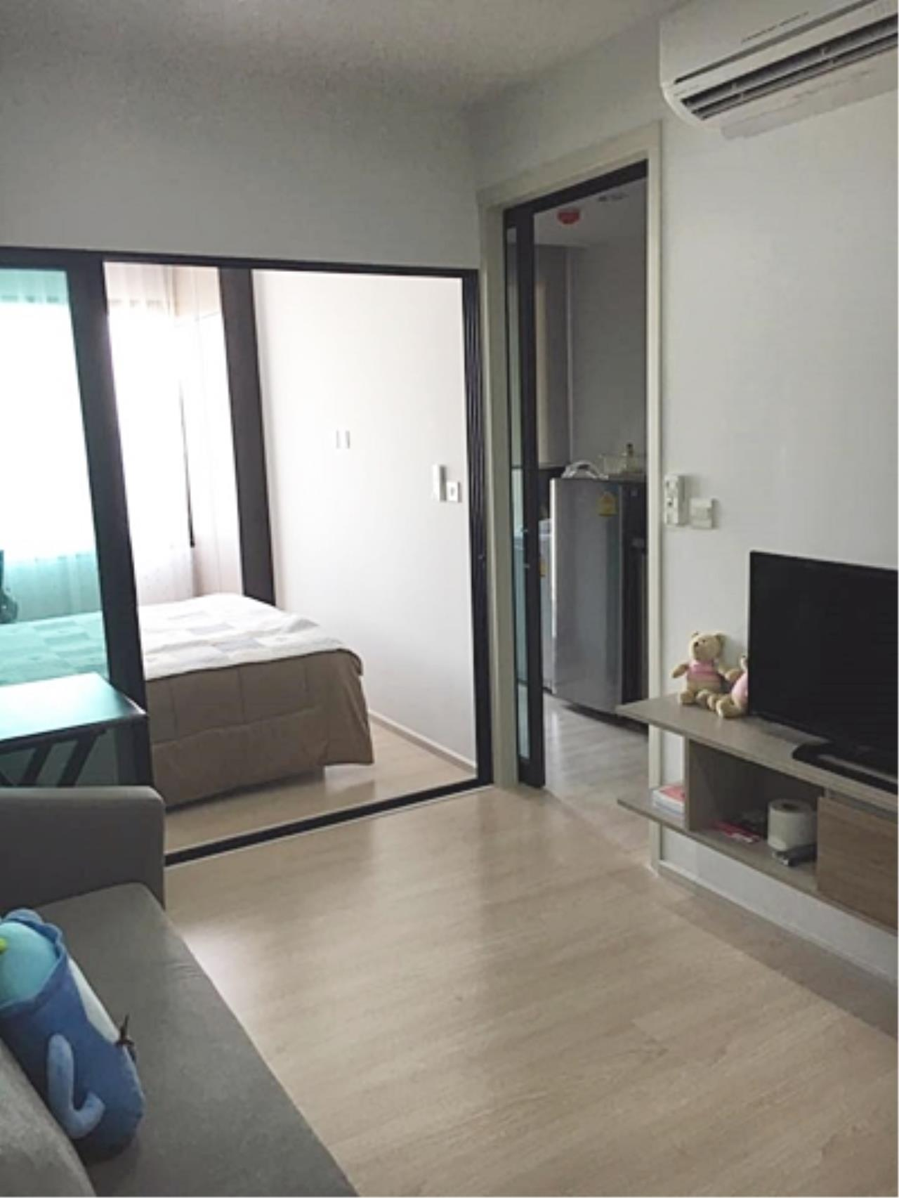 Estate Corner Agency (Samut Prakan) Agency's Condo for sale, The Gallery Bearing from BTS only 500 meters, fully furnished. 1