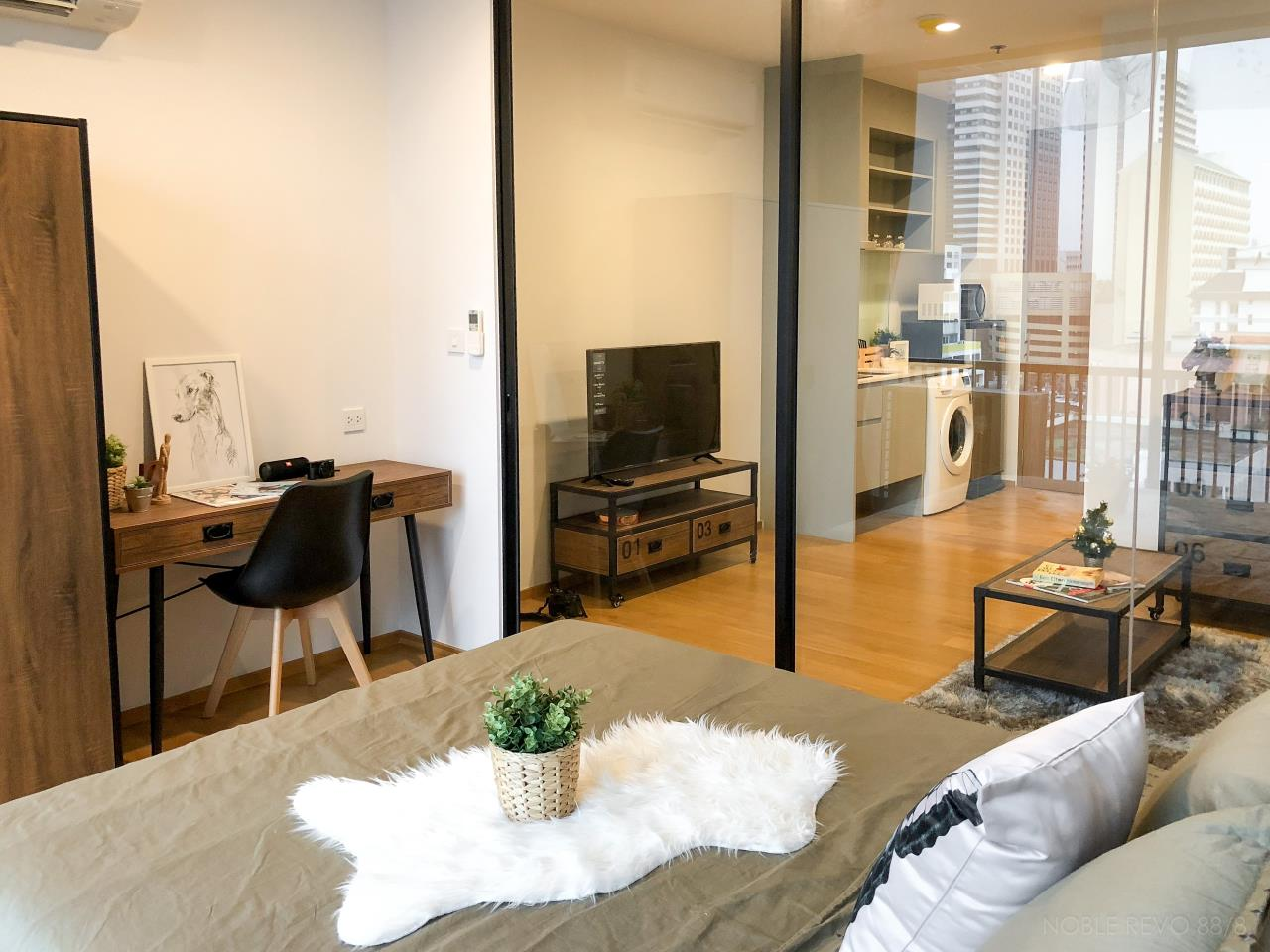 Agent - David Phinijdamm Agency's Lovely unit  For Rent  Noble Revo Silom 6