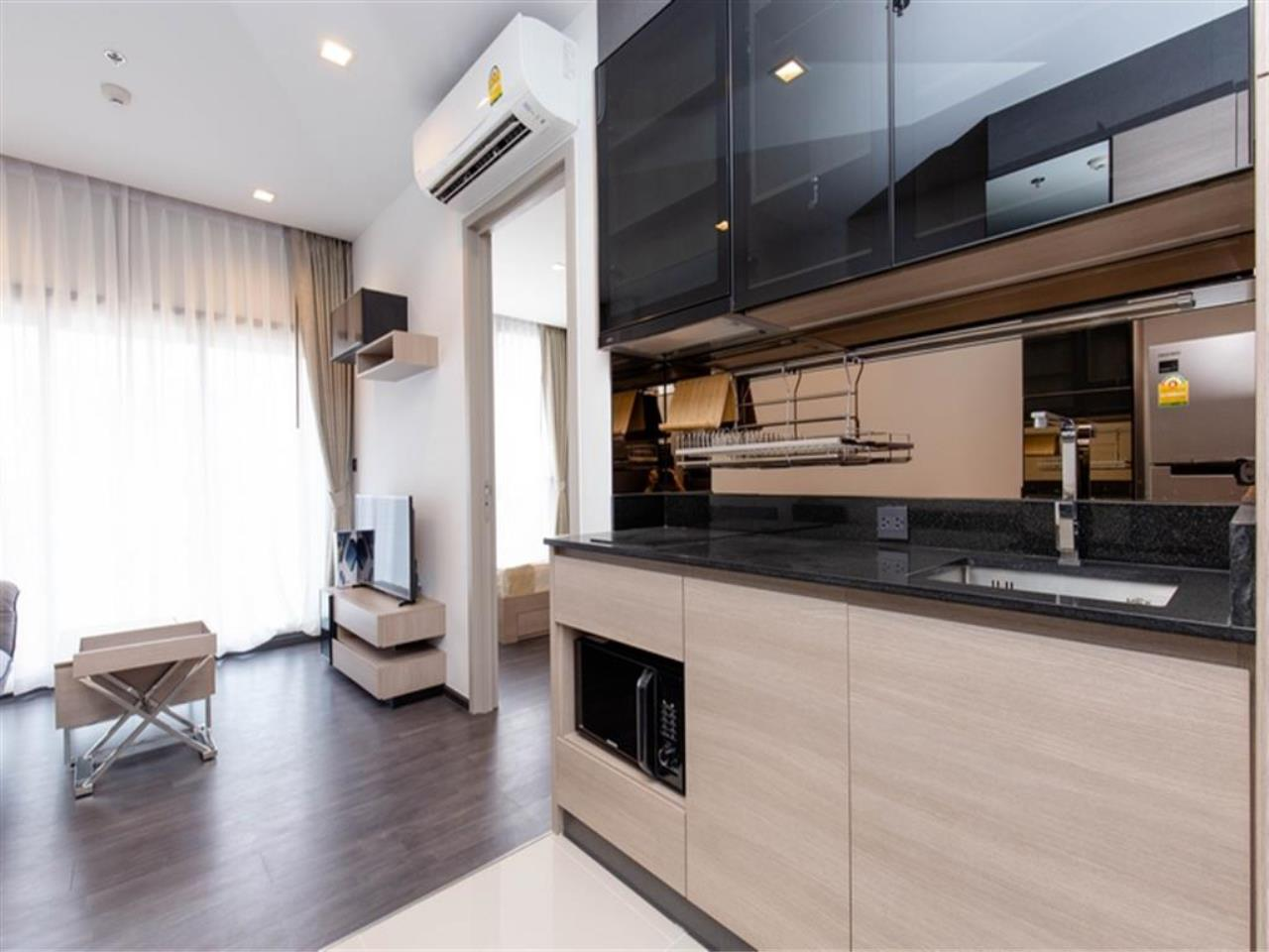 Agent - Vicky Puniramai Agency's Lovely unit for rent at  THE LINE Asoke - Ratchada   THB 18,500 / MO. 12