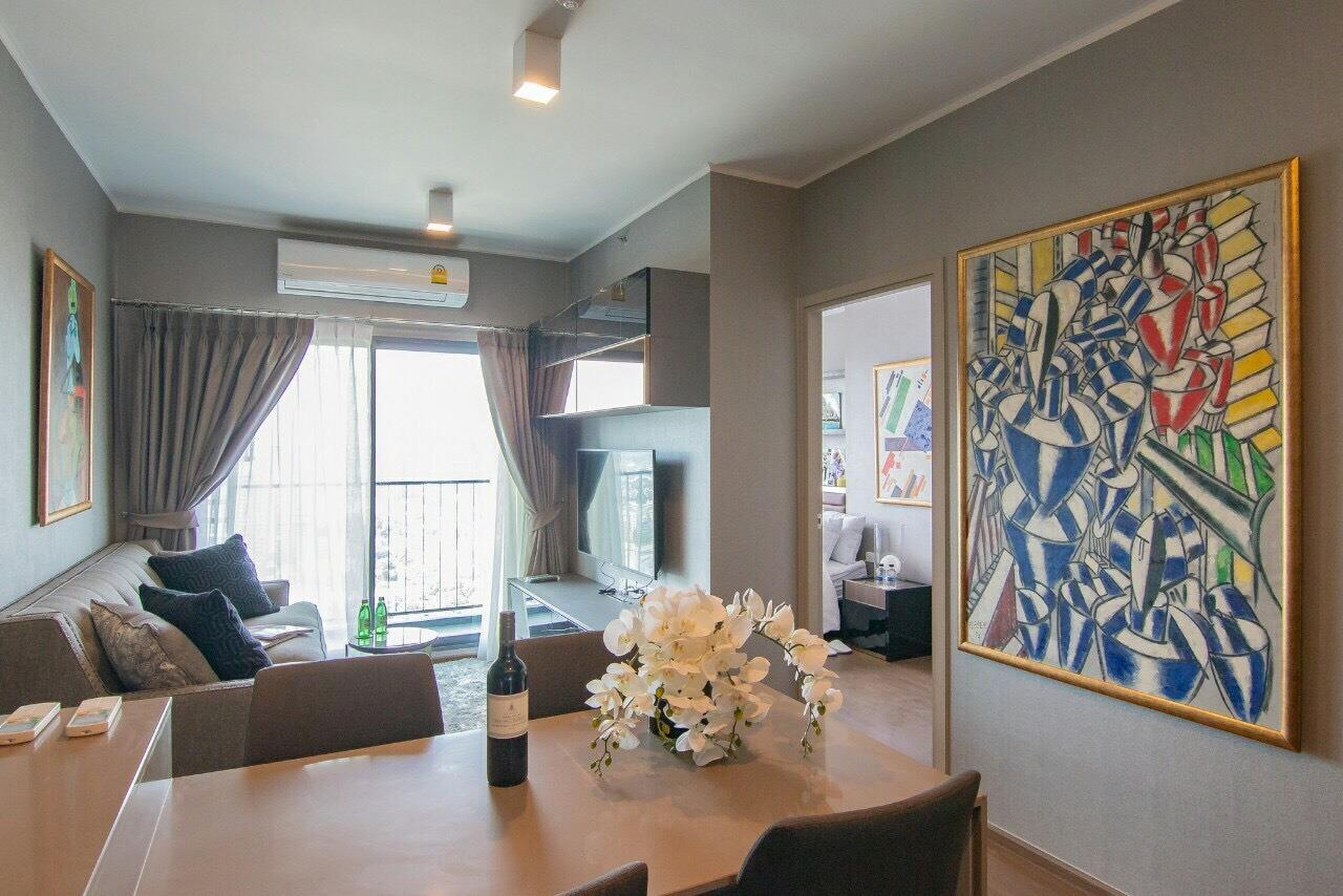 Agent - Supraras Agency's IDEO Sukhumvit 93 Condo 2 Bedroom 52 Sq.m. For Rent (High Floor & Nice Room) 1